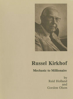 Russel Kirkhof biography cover